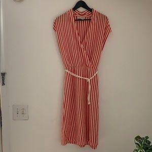 Saturday Sunday Anthropologie stripe dress
